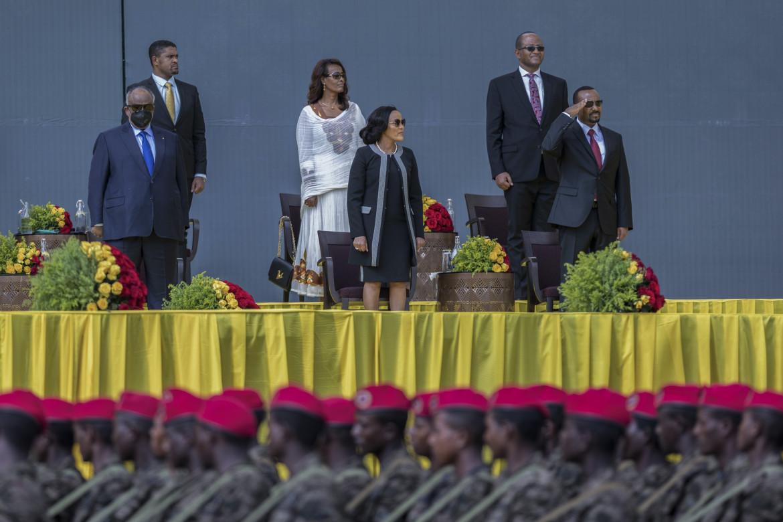 Il giuramento di Abiy Ahmed a Addis Abeba lo scorso 4 ottobre