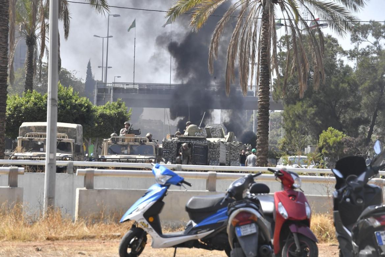 Beirut. Gli scontri a fuoco di ieri nel sud della capitale
