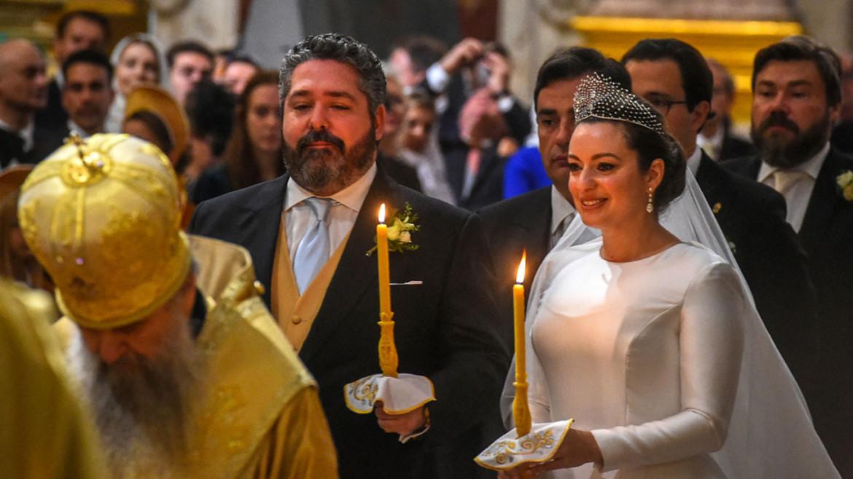 San Pietroburgo, Il matrimonio di George Romanov con Rebecca Bettarini