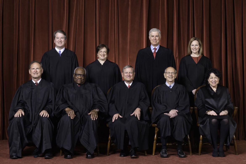 I giudici della Corte Suprema