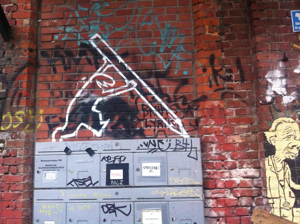 Street art a Oslo