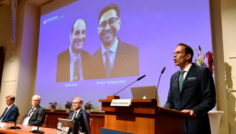 David Julius e Ardem Patapoutian premiati con il Nobel per la medicina