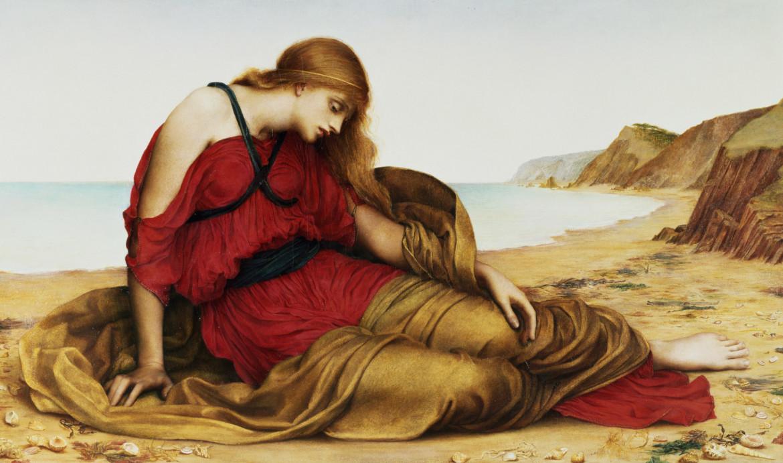 Evelyn De Morgan, «Arianna a Naxos», 1877