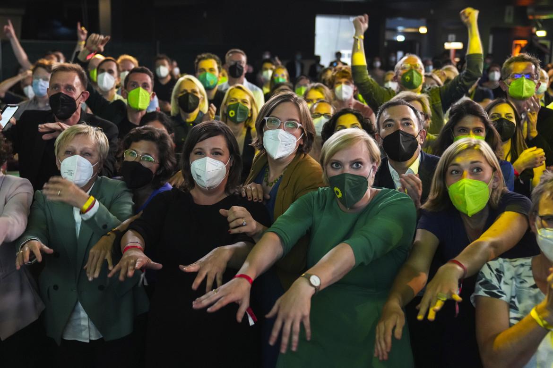 Membri e sostenitori del Partito dei Verdi tedeschi